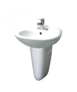 Chậu rửa lavabo Inax L-284V-L-284VC cốm