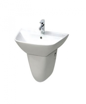 Chậu rửa lavabo Inax L-297V+chân L-297VC