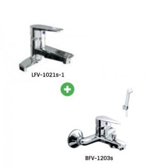Combo sen vòi LFV-1202S-1 + BVF-1203S
