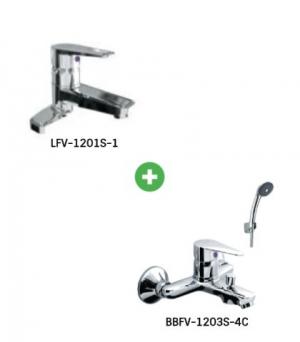 Combo sen vòi LFV-1201S-1 + BVF-1103S-4C