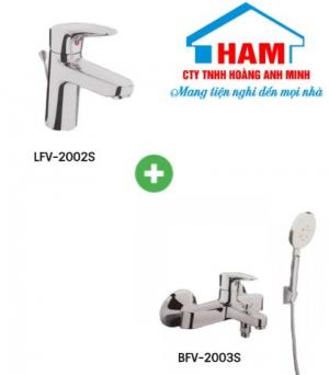 Combo sen vòi LFV-2002S + BVF-2003S