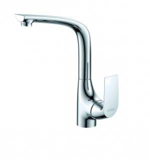 Vòi rửa bát nóng lạnh hai đường nước + dây cấp nước