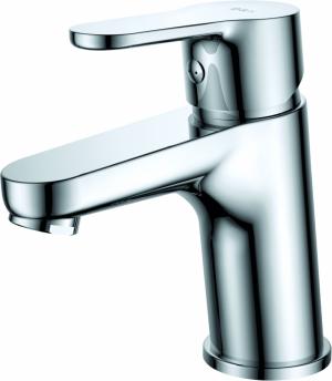 """"""" Vòi Lavabo 1 lỗ nóng lạnh hai đường nước + dây cấp nước"""