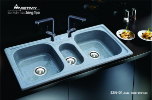 Chậu rửa Việt Mỹ 3H-S3N01