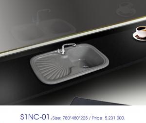 Chậu bàn đá việt mỹ S1NC-01