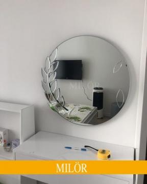 Gương trang trí ELSA 80*80cm
