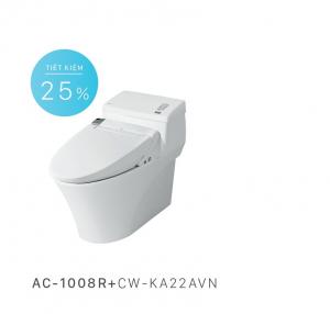 Bồn cầu nắp rửa điện tử Inax AC-1008R+CW-KA22AVN