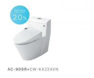Bồn cầu nắp rửa điện tử Inax AC-909R+CW-KA22AVN