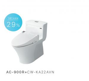 Bồn cầu nắp rửa điện tử Inax AC-900R+CW-KA22AVN