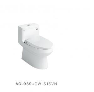 Bồn cầu nắp rửa cơ Inax AC-939+CW-S15VN