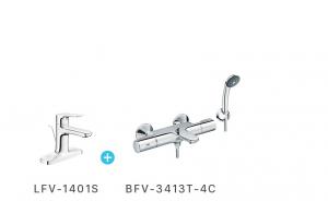 Combo sel nhiệt độ + vòi LFV1401 - BFV3413-4C