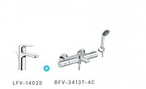 Combo sel nhiệt độ + vòi LFV1402S + BFV3413-4C