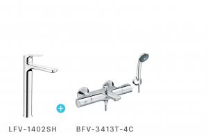 Combo sel nhiệt độ + vòi LFV1402SH + BFV3413-4C